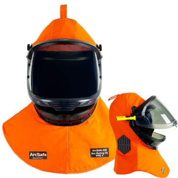 Picture of ArcSafe X50 Arc Flash Lift Front Switching Hood with ArcVents