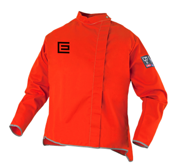 Picture of Proban® High Visibility  Orange  Welding Jacket