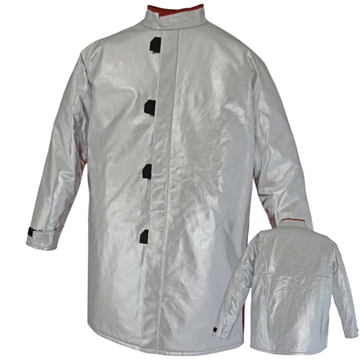 Picture of Foundry Jacket - 1000mm | Unlined | Centre Closure Action Back