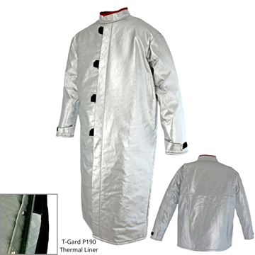 Picture of Foundry Jacket - 1300mm | Lined | Centre Closure Action Back