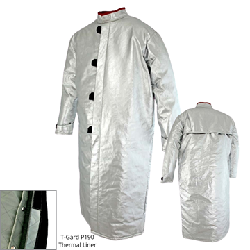 Picture of Foundry Jacket - 1300mm | Lined | Centre Closure Vented Action Back
