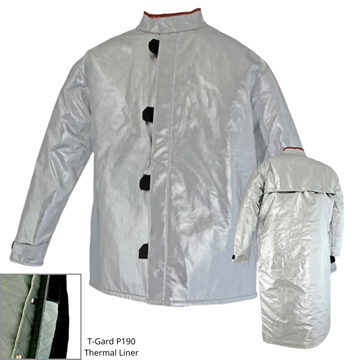 Picture of Foundry Jacket - 800mm | Lined | Centre Closure Vented Action Back