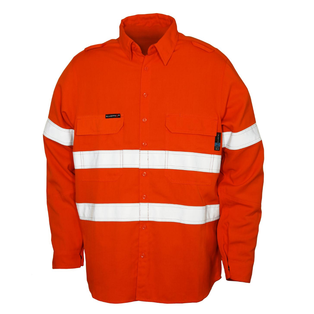 FR Workwear - Classic Fire Resistant Long-Sleeved Shirt
