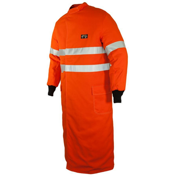 Picture of ArcSafe  T40 Arc Flash Switching Coat/ Ref Trim ATPV 40 PPE4 (HRC4) - Orange