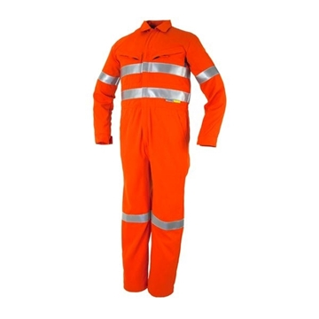 Picture of Tecasafe Plus Ultimate 7.0oz FR Coverall - Orange