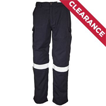 Picture of Tecasafe Plus Ultimate 5.8oz FR Cargo Trousers - Navy Blue