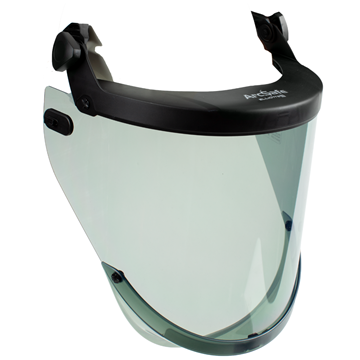 Picture of ArcSafe AmpShield US Clips - Arc Flash Face Shield