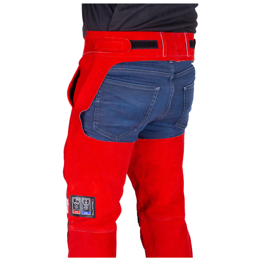 Big Red Seatless Welding Trousers