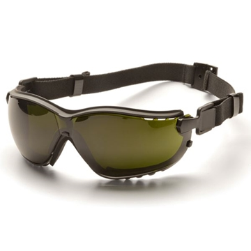 Picture of Pyramex V2G Specialty Glasses / Safety Goggles - Shade 5 Lens with Black Strap/Temples and H2X Anti-Fog Technology