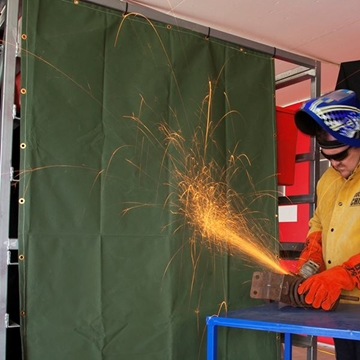 Picture of Flame Retarded Canvas Welding Screen