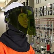 Picture of Electrical Arc Faceshields from Elliotts