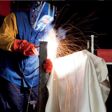 Picture of Silica Glass Welding Drape