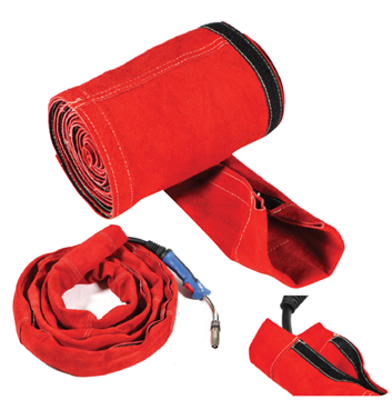Picture of Welding Cable Covers - Big Red Leather