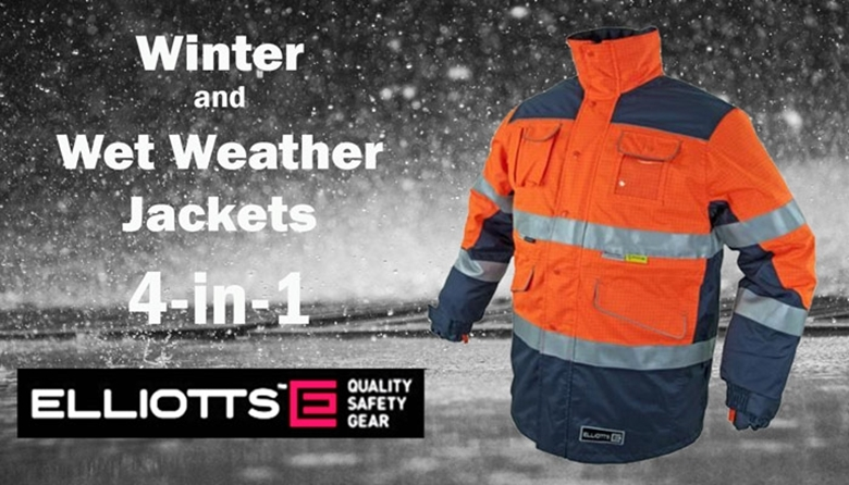 Winter and Wet Weather Jackets – 4-in-1