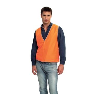 Picture of Safety Vest - Fluoro Orange No Trim Class D