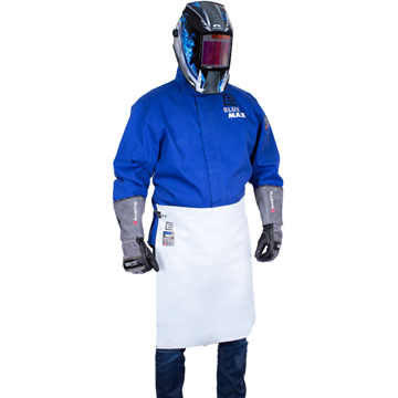 Picture of Blue Max A4 Leather Waist Style Welding Apron