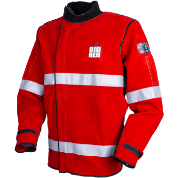 Picture of The BIG RED® Welders Jacket with Reflective Trim