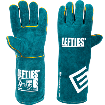Picture of The LEFTIES® Left Handed Welding Gloves