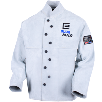 Picture of Blue Max Chrome Leather Welder's Jacket