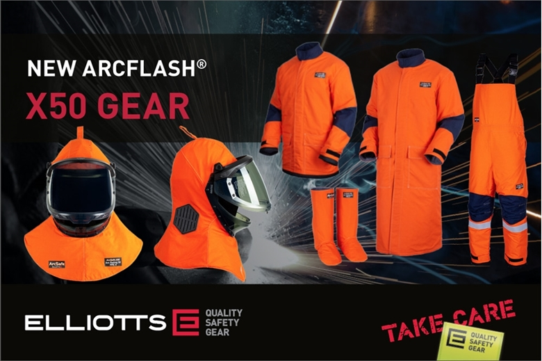 Introducing Elliotts' Next Generation of Arc Flash PPE