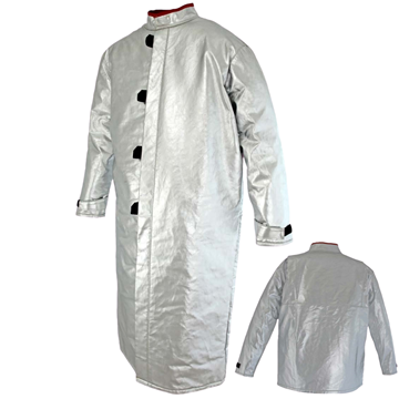 Picture of Foundry Jacket - 1300mm | Unlined | Centre Closure Action Back