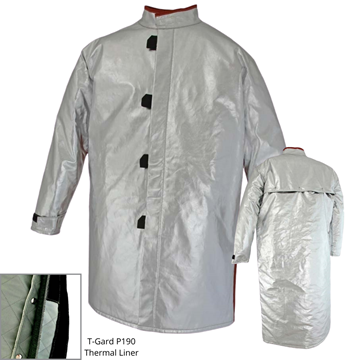 Picture of Foundry Jacket - 1000mm | Lined | Centre Closure Vented Action Back