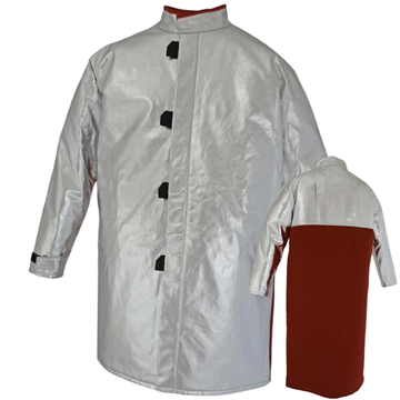 Picture of Foundry Jacket - 1000mm | Unlined | Centre Closure Combo Action Back
