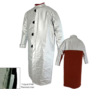 Picture of Foundry Jacket - 1300mm | Lined | Centre Closure Combo Action Back
