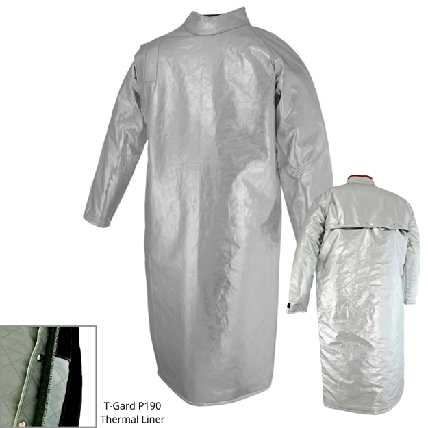 Picture of Foundry Jacket - 1270mm | Lined | Side Closure Vented Action Back