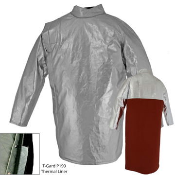 Picture of Foundry Jacket - 910mm | Lined | Side Closure Combo Action Back