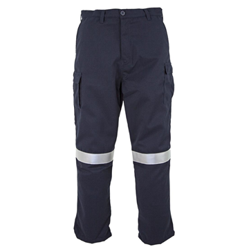 Picture of Tecasafe Plus Women's 7.0 oz FR Cargo Trousers - Navy Blue
