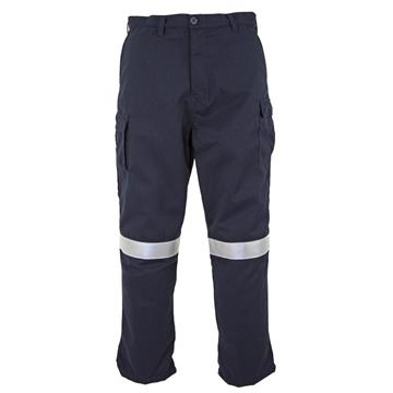 Picture of Tecasafe Plus Men's 7.0 oz FR Cargo Trousers - Navy Blue