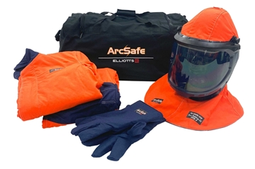 Picture of Jacket/Trousers & Lift Front Hood - ArcSafe X50 Kit