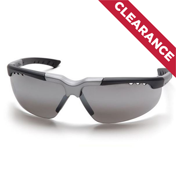 Picture of Pyramex Reatta - Silver Mirror Lens with Black/Silver Frame
