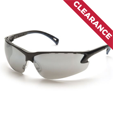 Picture of Pyramex Venture 3 - Silver Mirror Lens with Black Frame