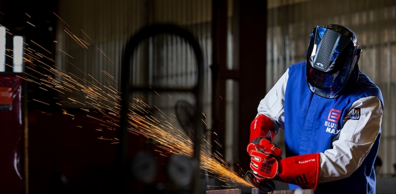 Introducing the new Big Red® CRX Welding Glove