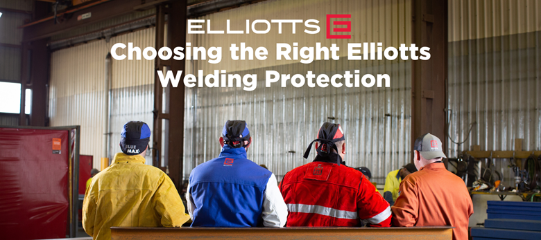 Elliotts has something for everyone when it comes to Welding Protection