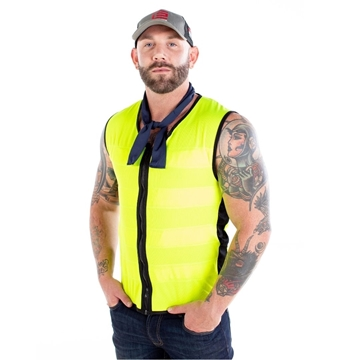 Picture of E-Cool  Vest - High Visibility Fluoro Yellow