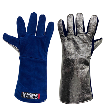 Picture of MagnaShield  Aluminised Preox Gloves - Pyrocore Leather Palm