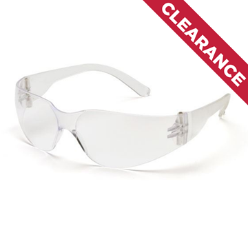 Picture of Pyramex Mini Intruder - Clear Lens with Clear Frame