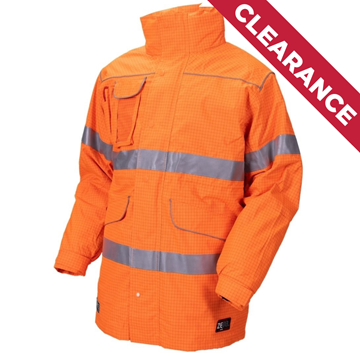 Picture of Zetel XT Z59 Wet Weather Jacket - Fluoro Orange with Reflective Trim
