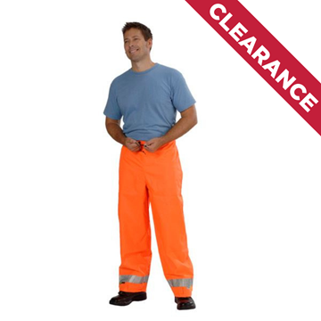 Picture of Z49 Wet Weather Trousers - Fluoro Orange with Reflective Trim